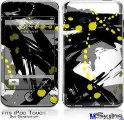 iPod Touch 2G & 3G Skin - Abstract 02 Yellow