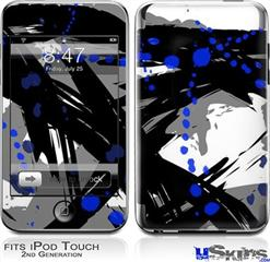 iPod Touch 2G & 3G Skin - Abstract 02 Blue