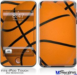 iPod Touch 2G & 3G Skin - Basketball