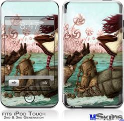 iPod Touch 2G & 3G Skin - Mach Turtle