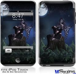 iPod Touch 2G & 3G Skin - Kathy Gold - Bad To The Bone 2