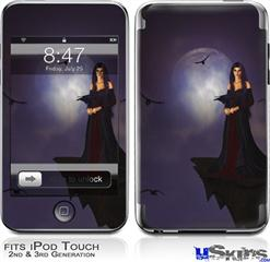 iPod Touch 2G & 3G Skin - Kathy Gold - Night Of Raven 1
