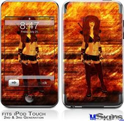 iPod Touch 2G & 3G Skin - Kathy Gold - Scifi 2