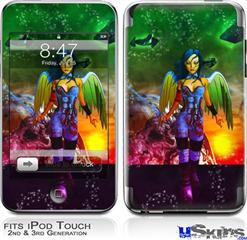 iPod Touch 2G & 3G Skin - Kathy Gold - Tech Angel 2