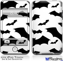 iPod Touch 2G & 3G Skin - Deathrock Bats