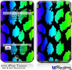 iPod Touch 2G & 3G Skin - Rainbow Leopard
