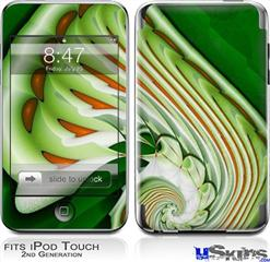 iPod Touch 2G & 3G Skin - Chlorophyll