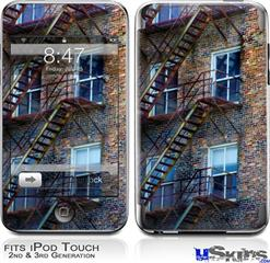 iPod Touch 2G & 3G Skin - Stairs