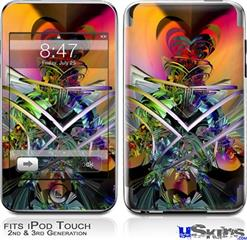 iPod Touch 2G & 3G Skin - Atomic Love