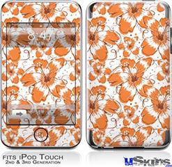 iPod Touch 2G & 3G Skin - Flowers Pattern 14
