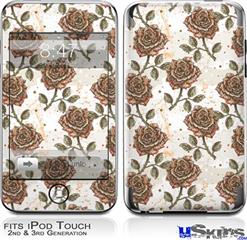 iPod Touch 2G & 3G Skin - Flowers Pattern Roses 20