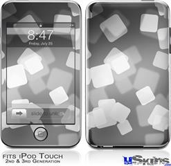 iPod Touch 2G & 3G Skin - Bokeh Squared Grey
