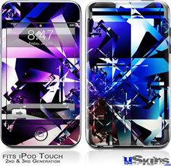 iPod Touch 2G & 3G Skin - Persistence Of Vision