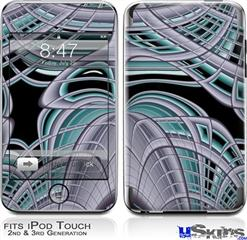 iPod Touch 2G & 3G Skin - Socialist Abstract