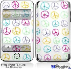 iPod Touch 2G & 3G Skin - Kearas Peace Signs