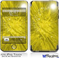 iPod Touch 2G & 3G Skin - Stardust Yellow