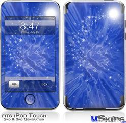 iPod Touch 2G & 3G Skin - Stardust Blue